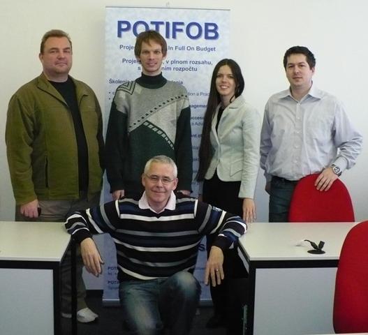 Absolventi a lektor jednoho z našich veřejných certifikačních kurzů MSP Foundation a Practitioner - prvního v ČR a SR.