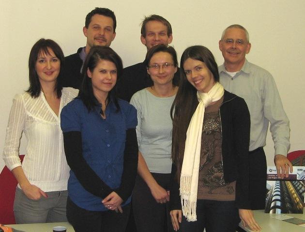 Absolventi a lektor prvního certifikačního kurzu P3O ve střední i východní Evropě.