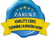 Záruka kvality, termínu, nejlepší ceny a udržení know-how