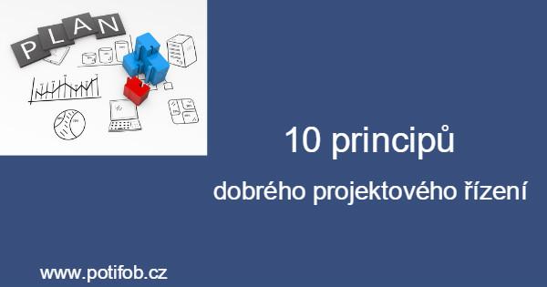 Principy dobrého projektového řízení