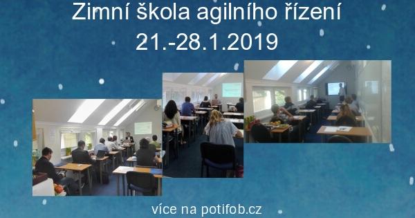 Zimní škola agilního řízení 21.-28.1.2019